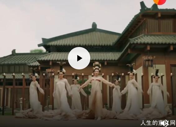 """舞蹈《丽人行》(""""双面燕洵""""配乐版),耳目一新、美丽绝伦"""