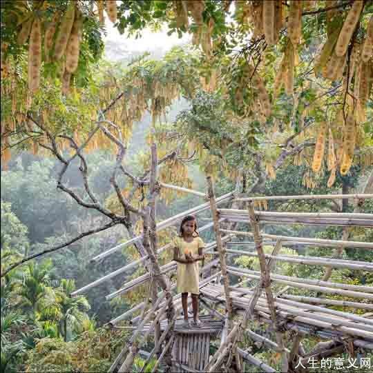 印度母系氏族部落:最小的女儿继承家产