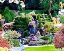 夫妇合力建造世界最美花园