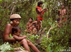 现在的原始部落的真实生活:吃青蛙、蜘蛛、蛇