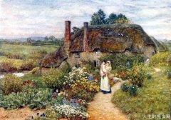 诗意地栖居在大地上——海伦·玛丽·伊丽莎白·珀特森水彩画