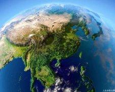 中国地形图,真美!